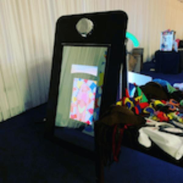 Phone Frame Mirror